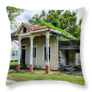 Old House Donaldsonville La-historic Throw Pillow