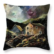 Old Houses 5648 Throw Pillow