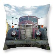 1946 International Truck Throw Pillow