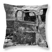 Old Jalopy Throw Pillow