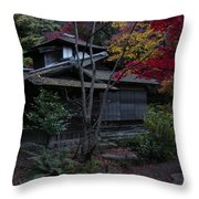 Old Japan Throw Pillow