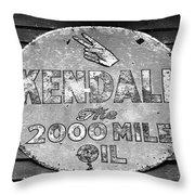 Old Kendal Sign Throw Pillow
