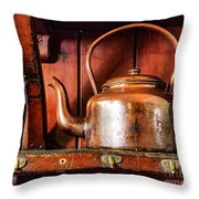 Old Kettle Throw Pillow
