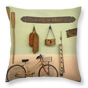Old Key West Room Throw Pillow