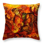 Old Klezmer Band Throw Pillow