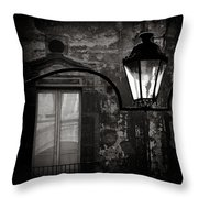 Old Lamp Throw Pillow