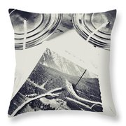 Old Line Of Failure Throw Pillow