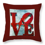 Old Love Throw Pillow