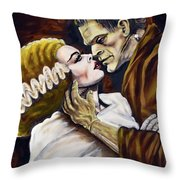 Old Loves Die Hard Throw Pillow