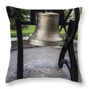 Old Main Bell  Throw Pillow