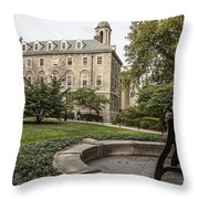 Old Main Penn State Bell  Throw Pillow