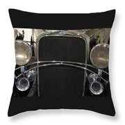 Old Man Chevy Throw Pillow