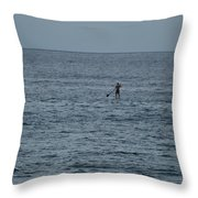 Old Man In The Sea Throw Pillow