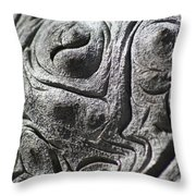 Old Man In The Wood Throw Pillow