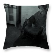 Old Mary Cleavers House Throw Pillow