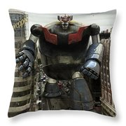 Old Maziger Z Throw Pillow