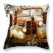 Old Memories Never Die Throw Pillow