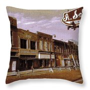 Old Memphis Beale Street Throw Pillow