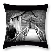 Old Mill 1 Throw Pillow