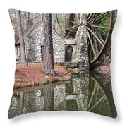 Old Mill 2 Throw Pillow