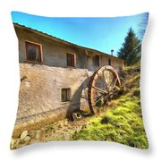 Old Mill - Antico Mulino Throw Pillow