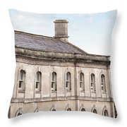 old mill building Oxford, England Throw Pillow