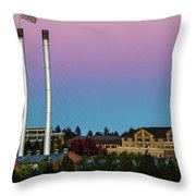 Old Mill District - Bend, Oregon Throw Pillow