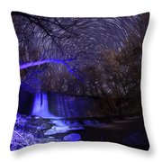Old Mill Warp Throw Pillow