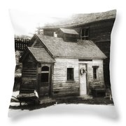 Old Miner Throw Pillow