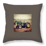 Old Model In A Younger Generation Throw Pillow