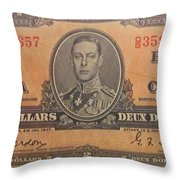 Old Money Throw Pillow