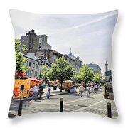 Old Montreal June 2010 Throw Pillow