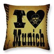 Old Munich Throw Pillow