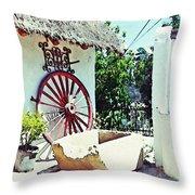 Old Murcia Throw Pillow by Sarah Loft