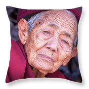 Marks Of Life Throw Pillow