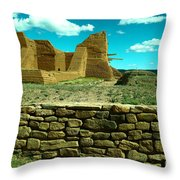 Old New Mexico Throw Pillow