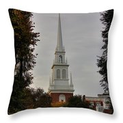 Old North Church Throw Pillow