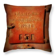 Old Number 16 Throw Pillow