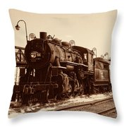Old Number 519 Throw Pillow