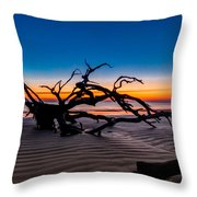 Old Oak New Day Throw Pillow by Debra and Dave Vanderlaan