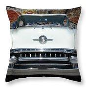 Old Oldsmobile Throw Pillow
