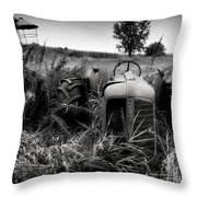Old Oliver 2 Throw Pillow