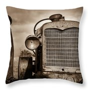 Old Oliver II Throw Pillow