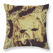 Old Outback Horrors Throw Pillow