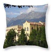 Old Palace Trauttmansdorf Throw Pillow