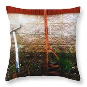 Old Pals Out To Pasture Throw Pillow