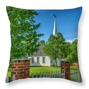 Old Peace Chapel Defiance Mo 7r2_dsc6739_04252017 Throw Pillow