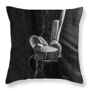 Old Pitcher Throw Pillow