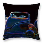 Old Plymouth Old Cars Throw Pillow