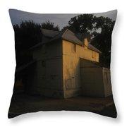 Old Port Tampa Throw Pillow